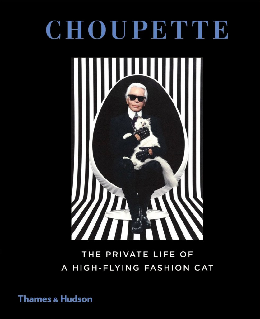 «CHOUPETTE» le livre du chat jet-set de Karl Lagerfeld !