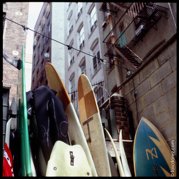 Un surf shop au coeur de Manhattan