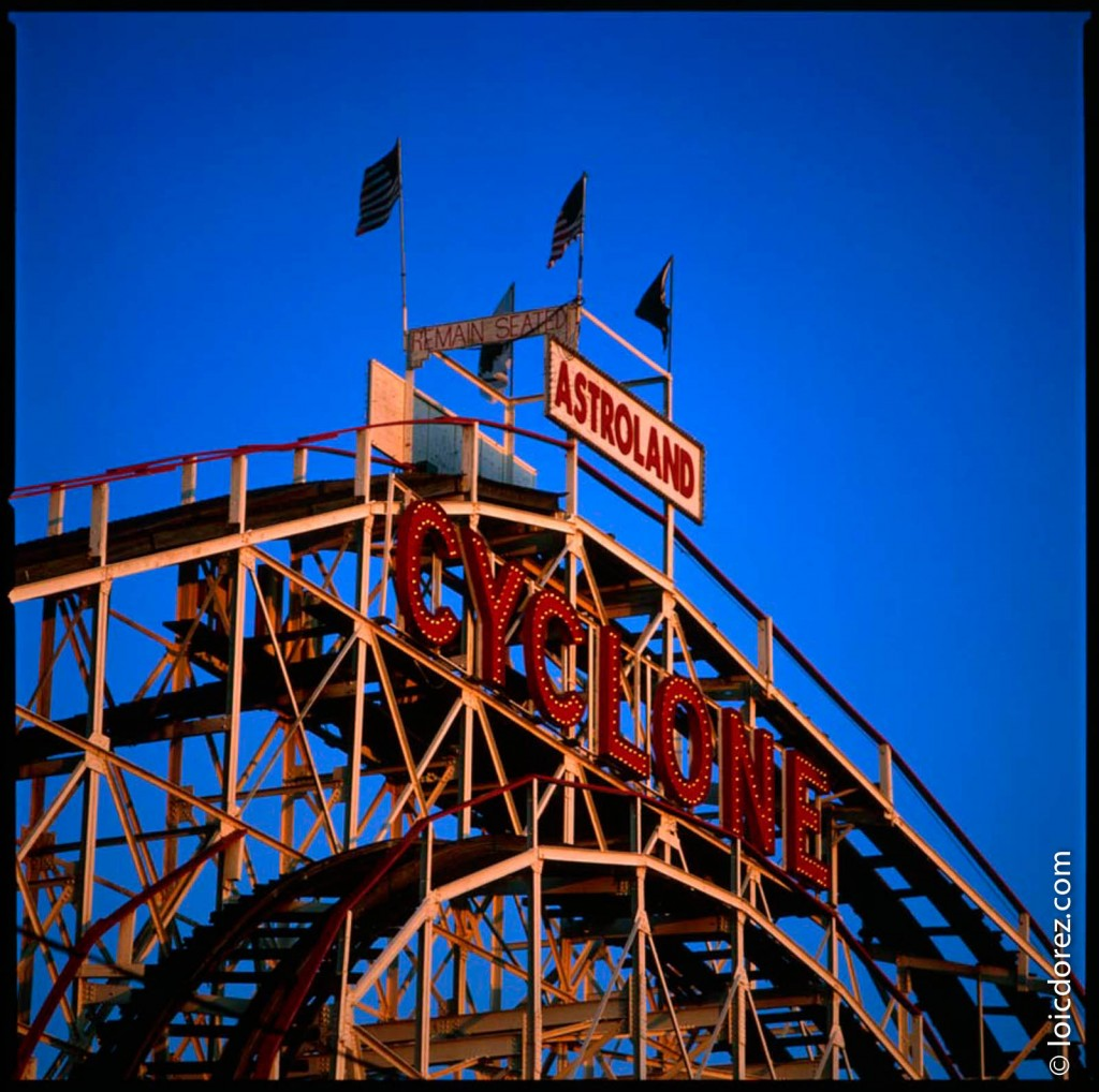 Coney Island, le parc d'attraction New Yorkais