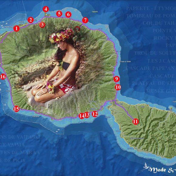 Idées sur Tahiti : bons plans, carte et tour de l'île avec Miss Tahiti 2010