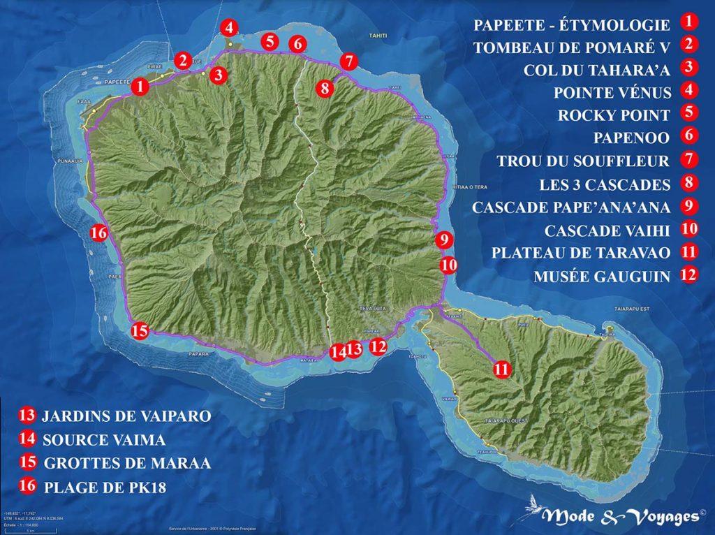Carte Du Monde Tahiti.Idees Et Carte Tahiti Bons Plans Conseils D Une Vahine Et Tour De