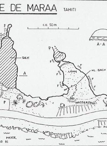 Dessin grotte de Maraa