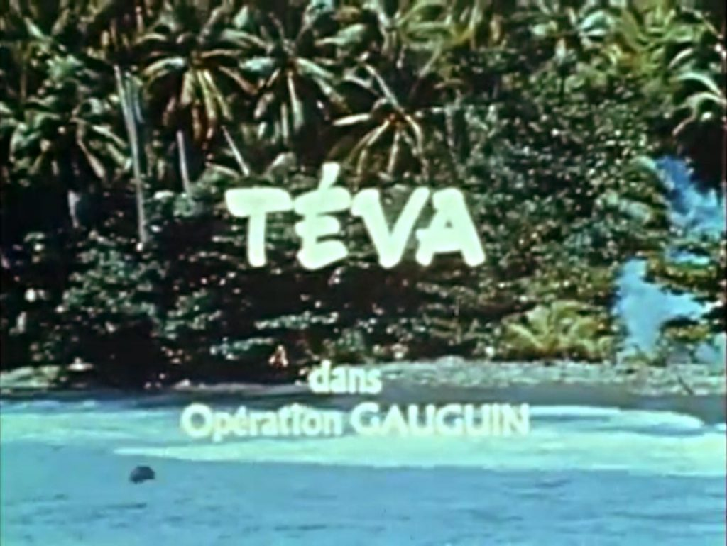 Opération Gauguin – Le film des années 70 du photographe Adolphe Sylvain