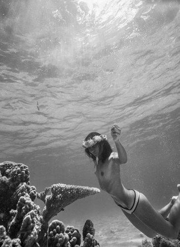 photos sous l'eau