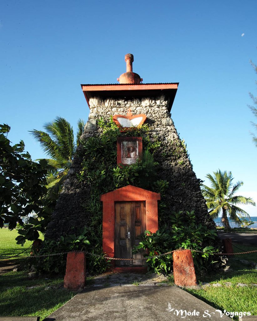 Le tombeau de Pomare V