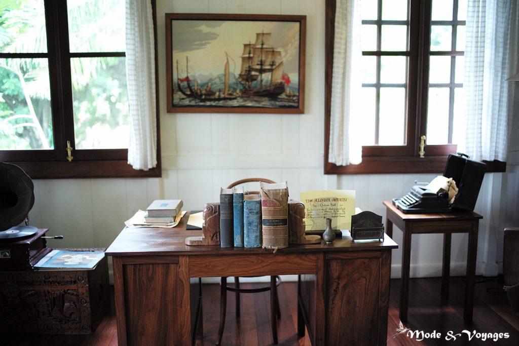Les révoltés de la bounty la maison de james norman hall à tahiti