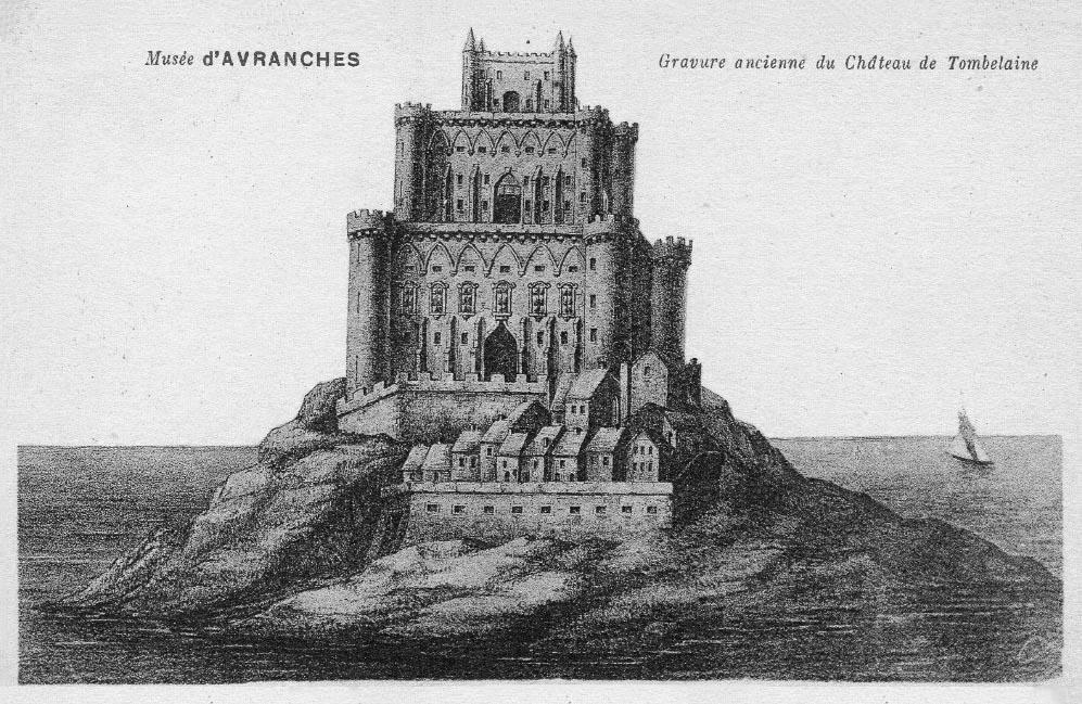 Baie du Mont Saint-Michel, histoire de Tombelaine : la démolition de la forteresse