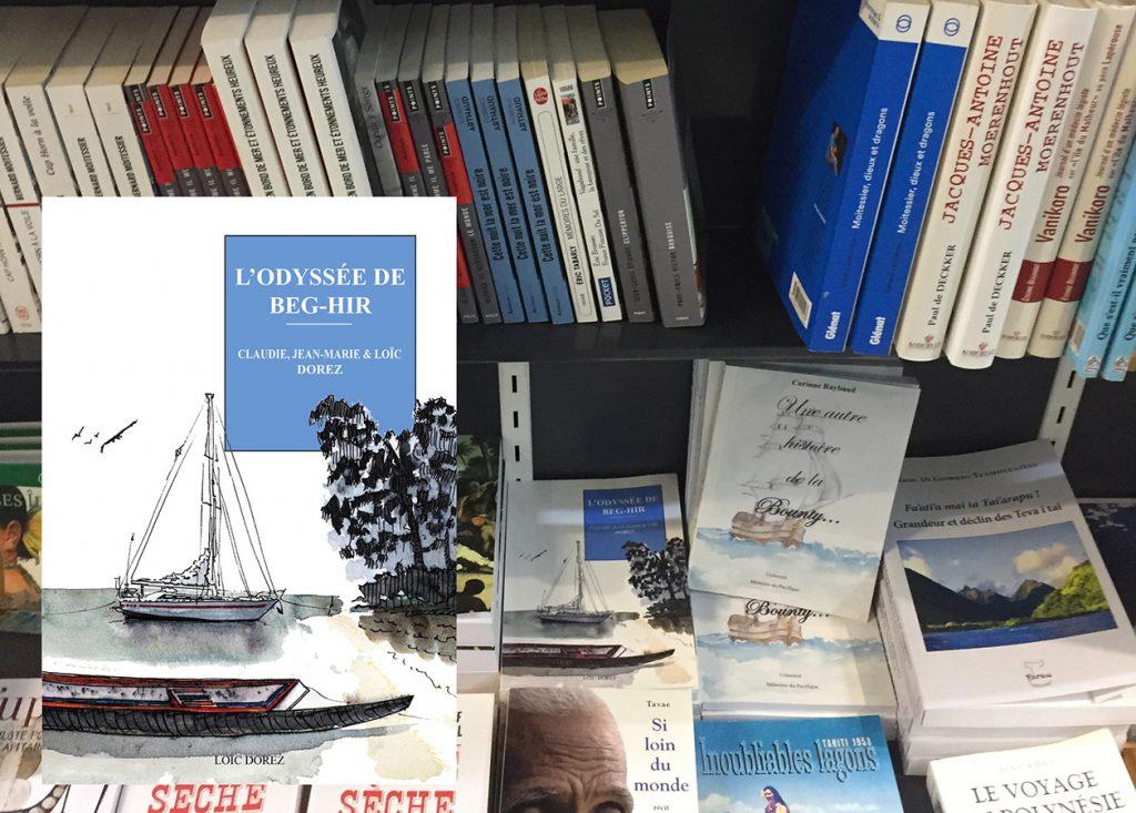 Les librairies où trouver l'Odyssée de Beg-Hir