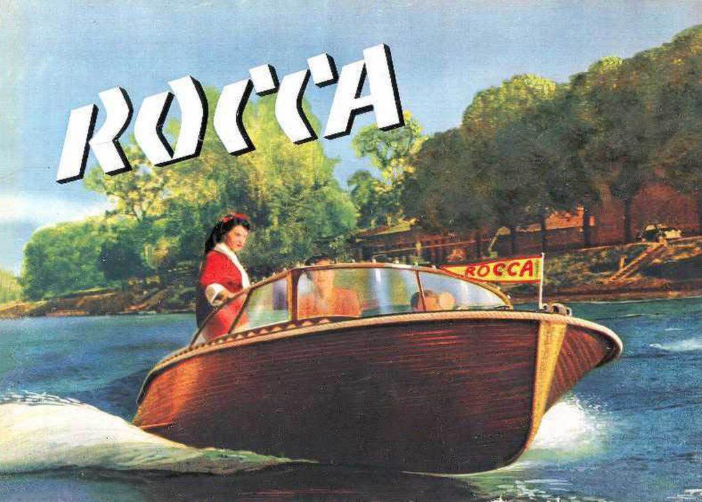 Motonautisme, canots Rocca, le luxe à la française