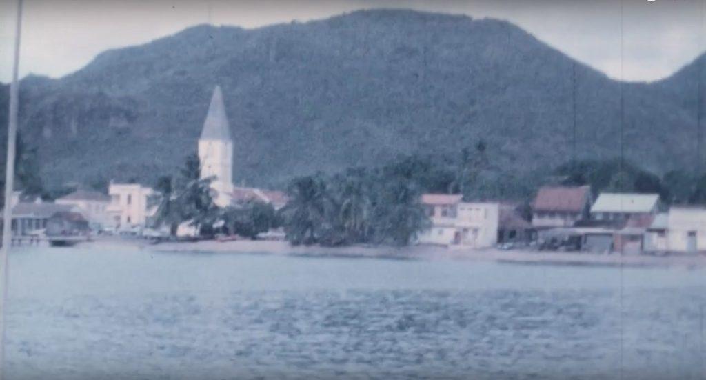 Film archives 8mm de l'arrivée de Beg-Hir en Martinique