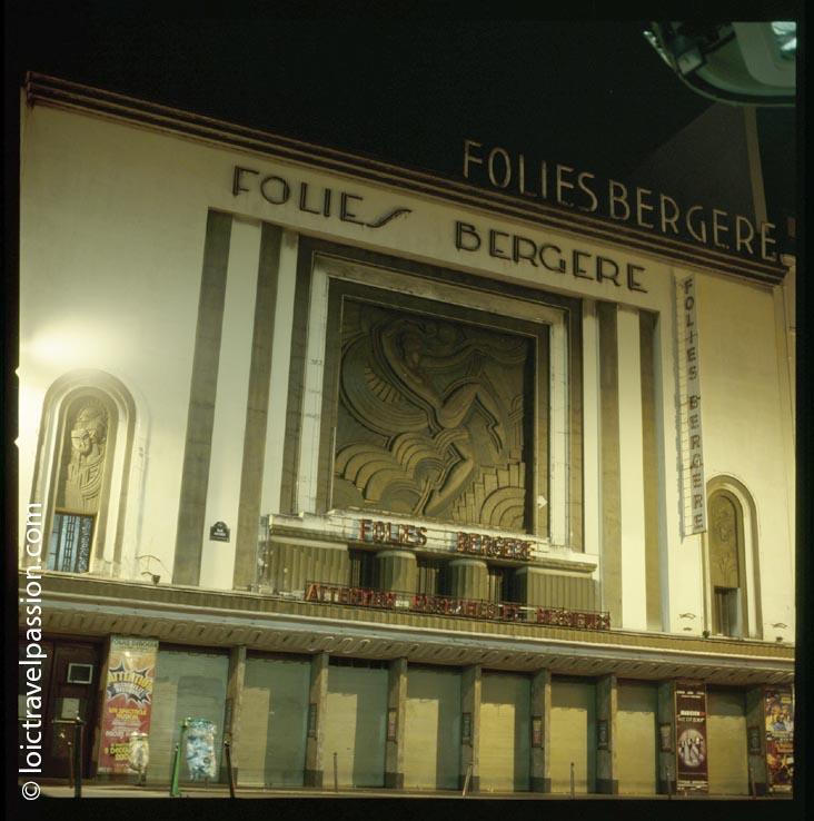 Paris : l'histoire des Folies Bergère