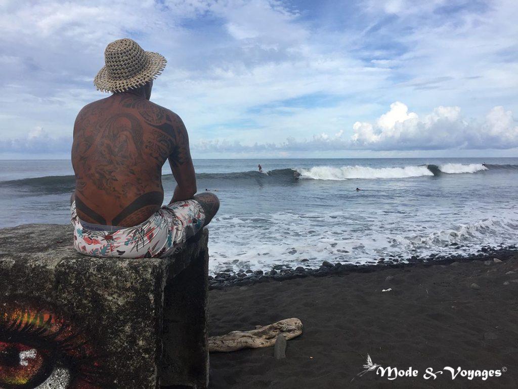 Surf à Tahiti : Papenoo – Embouchure