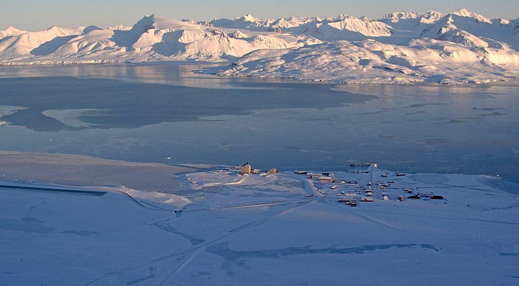 Spitzberg, webcams, cartes,liens météos et scientifique pour Ny-Ålesund, le village polaire