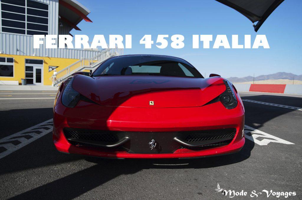 Ferrari : essai sur circuit de la Ferrari 458 Italia